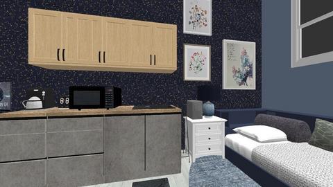 My Dorm Room - by imacrab396