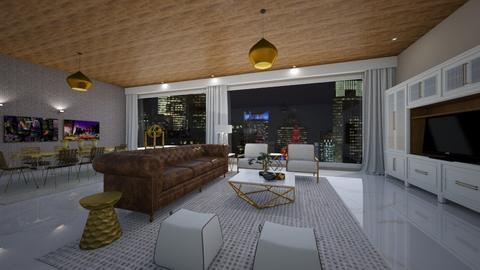 Chip by Daisy de Arias - Living room  - by Daisy de Arias