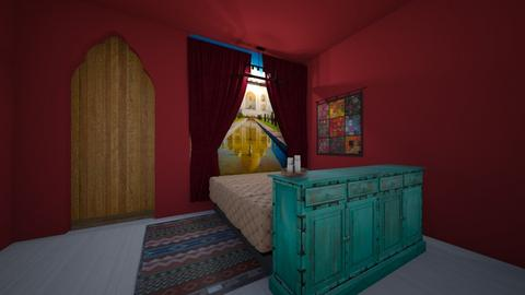 sleeping in india  - Bedroom  - by Hippie_11