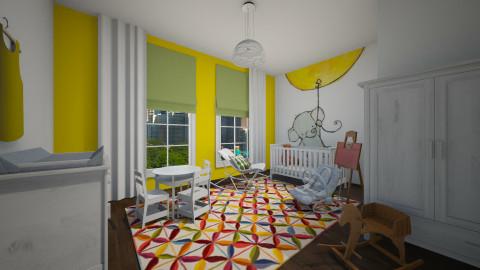 Rowans room - Kids room  - by Irene Klinkenberg