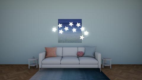 Starry Waters - Living room - by BunnyAngel