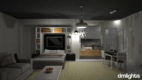 Studio Apartemen - Vintage - by DMLights-user-1347177