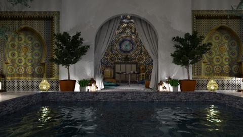 Riad - Garden  - by Anjuli