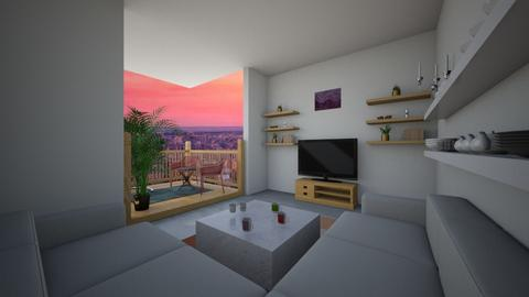 New York apartment  - Minimal - Living room  - by Pheebs09