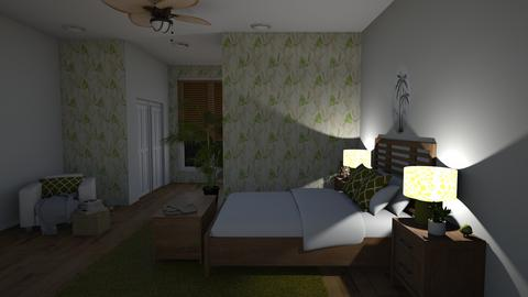 Tropical Night - Bedroom  - by Sunshine Girl