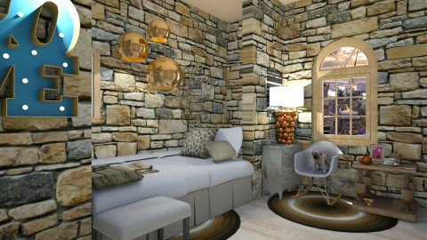 Stone country girl bbr2 - Country - Bedroom  - by AURORA SCOTT ALLEN