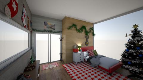 Christmas Room - Bedroom  - by Haylies_rooms