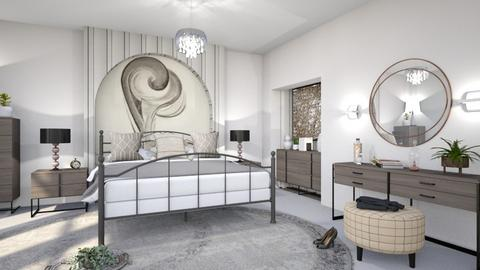 M_ O Keeffe bedroom - Bedroom - by milyca8