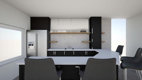 Basement Bar - Kitchen  - by Kvander22