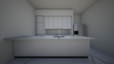 Grey Kitchen - Kitchen  - by meandu