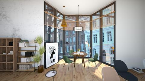 cinnamon rolls and coffee - Minimal - Living room  - by Happyspaniel