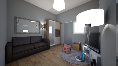 ROOM PROJECT 1 - Bedroom - by arbimsatrio