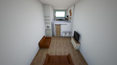 cool bedroom - Bedroom  - by Ellzbee