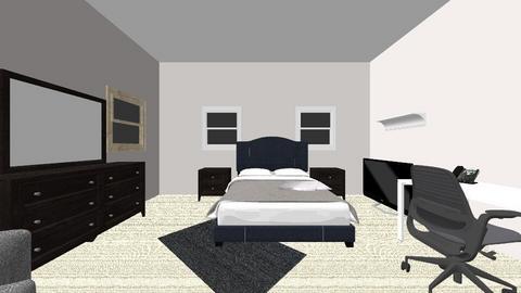 bedroom - Modern - Bedroom  - by samrobison4