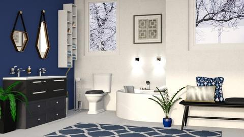 Deluxe Master Bathroom - Modern - Bathroom  - by millerfam