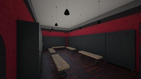 locker room  - by jo_le