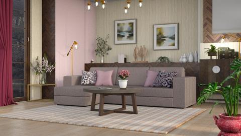 M_ Foxglove - Living room  - by milyca8