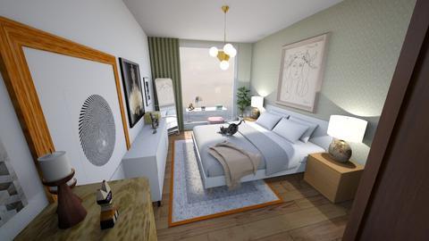 Bedroom v3 - Modern - Bedroom - by jessyctw
