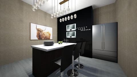 my 6th design - Kitchen  - by OferneH