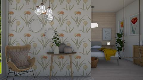 poppy bedroom - Bedroom - by _xandra_