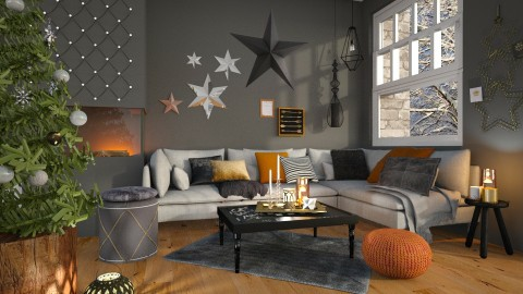 Xmas Feelings - Modern - Living room - by deleted_1587966089_ArcticMoon