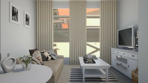 kasia  - Living room - by agafrutek