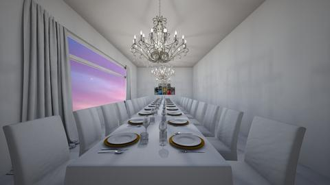 Excessive Dining Space - Dining room  - by xeniaaa