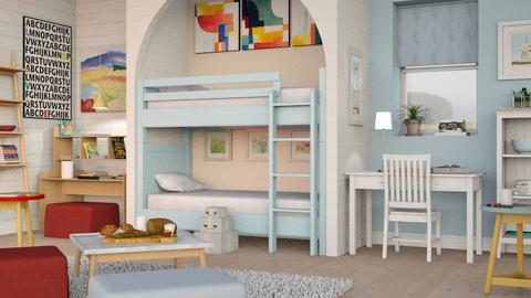 Two Kids Room - Eclectic - Kids room  - by Sally Simpson