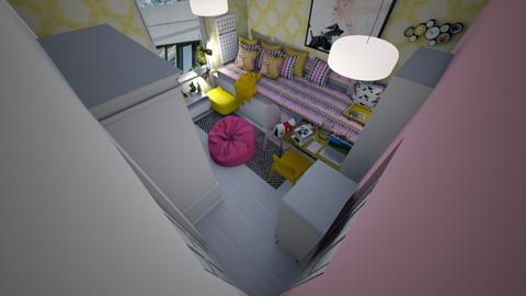 Small Bedroom 16 - Bedroom  - by Khayla Simpson