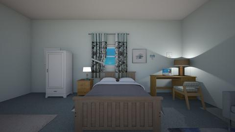 Blue Beach - Bedroom  - by mspence03