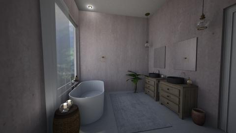pinkbath - Bathroom  - by MaluMeyer