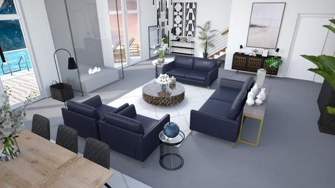 A Minimalist living room - Living room  - by matina1976