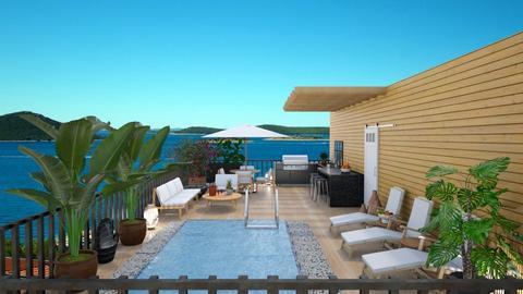 Rooftop terrace - by Themis Aline Calcavecchia
