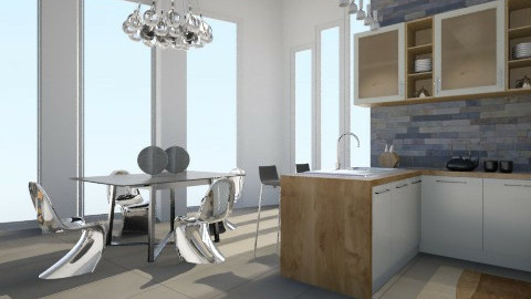 modern indulgence - Modern - Dining room - by crystal aston