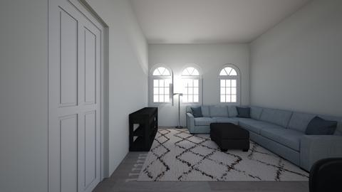 college appartment iowa - Living room - by erin_noelle06