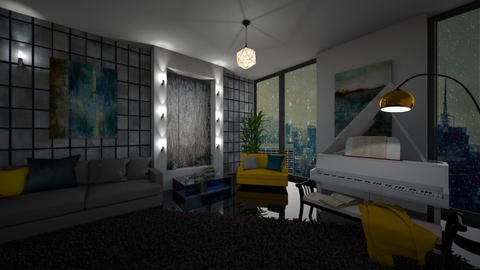 Singing in the rain - Modern - Living room  - by Bee0196