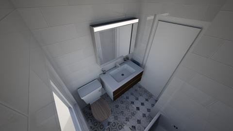 walnut bathroom 1 - Bathroom  - by EathanJ