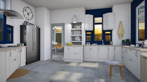 Country Kitchen - Modern - Kitchen  - by Gurns
