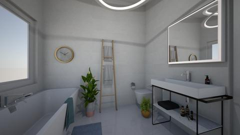 Minimal bathroom - Bathroom - by Seahorse07