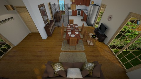 addition ideas2 - Rustic - Living room  - by CARMEND70