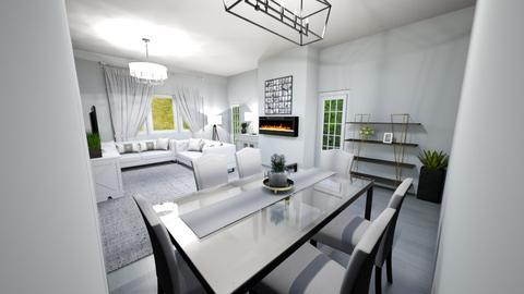 Living room part 1 - Living room  - by Gymnast home designer