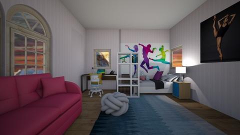 girls dance bedroom - Kids room  - by CW THE HARRY POTTER FAN
