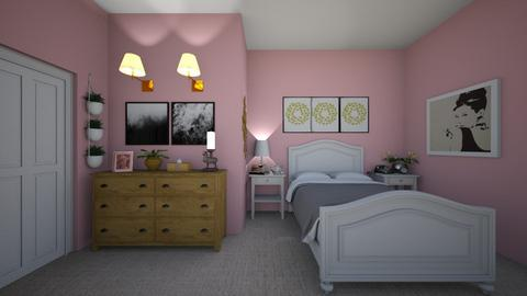 Monica_room - Bedroom  - by Mdecamps