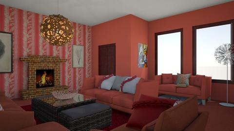 Coral Live - Living room  - by emivim