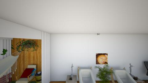 LIVING RM PORCH DIVIDE - Modern - by JEN GRANT FRISKIELISKIE