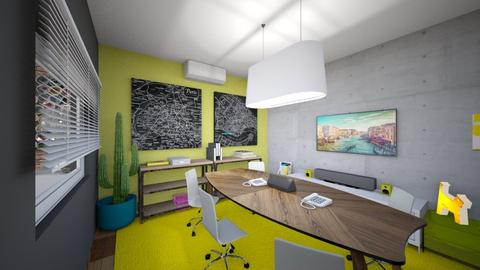 media room x1 - Kitchen - by APEXDESIGN