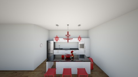 Kitchen  - Country - Kitchen  - by carlierg