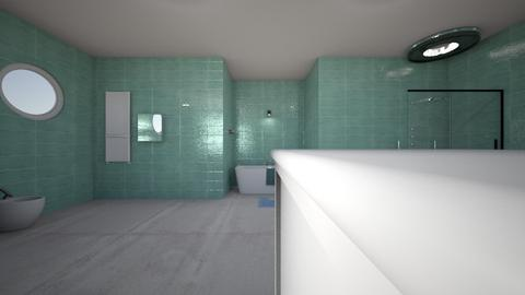 shic bath - Modern - Bathroom - by massunflower