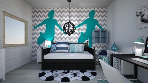 soccergirlsroomremix - Kids room  - by tahliawaters
