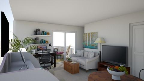 FV 1 BR - Classic - Living room  - by AllieBee